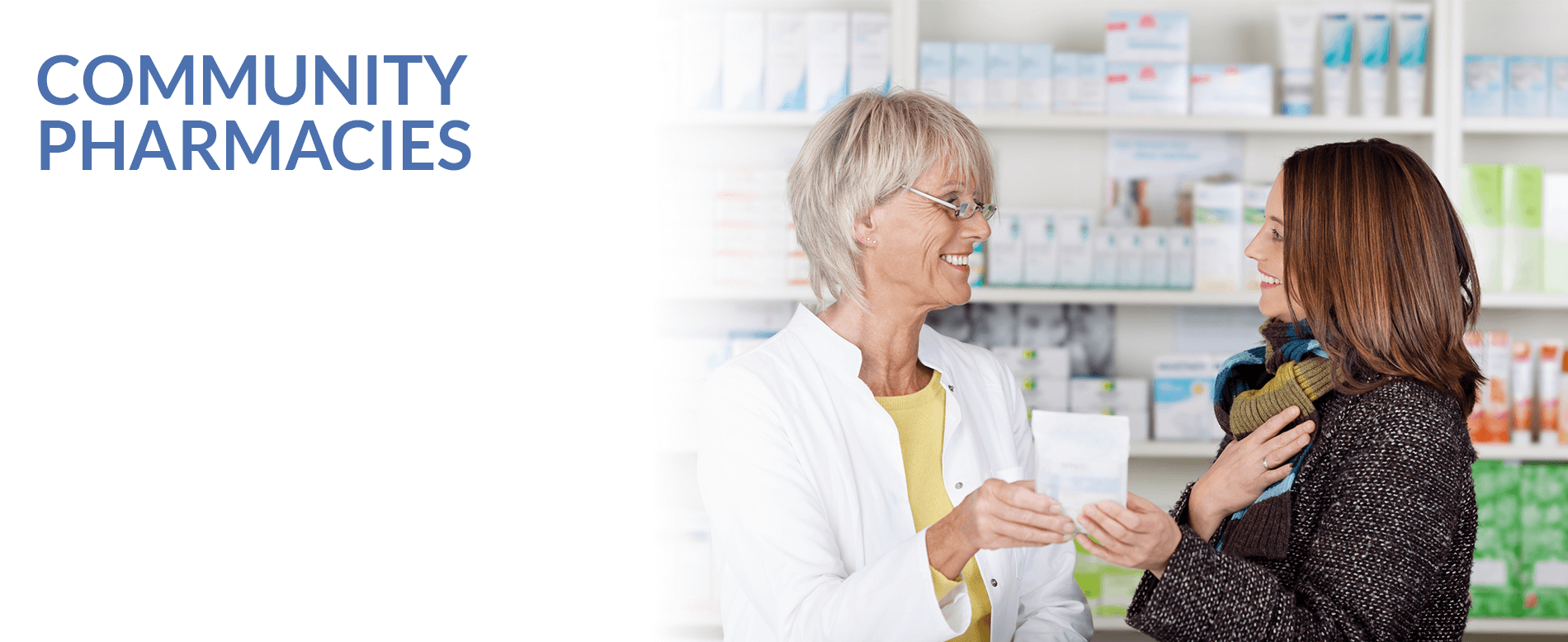 Meditec, Community Pharmacies